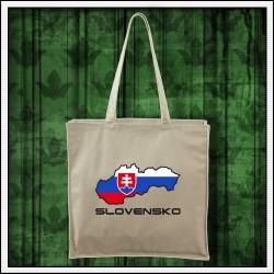 Tašky Slovensko mapa