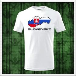 Detské tričká Slovensko mapa