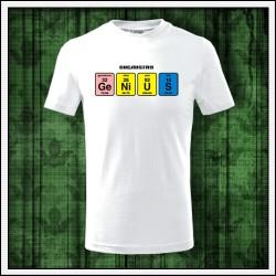 Vtipné detské tričká Genius