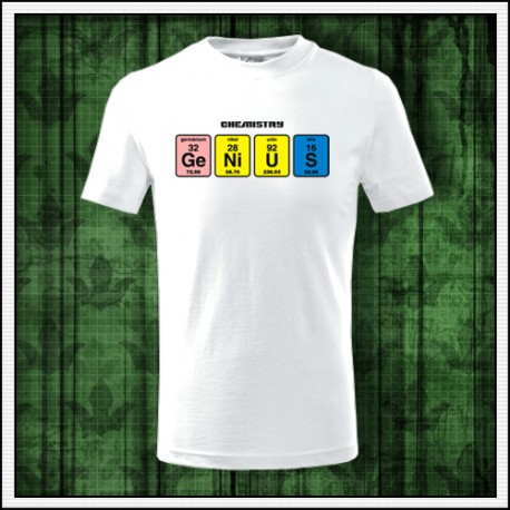 Vtipné detské tričko Genius