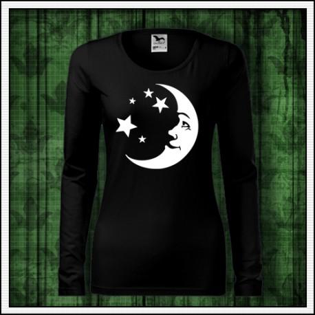 Dámske dlhorukávové tričko Mesiac na narodeniny