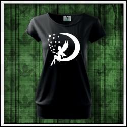 Dámske svietiace tričko, darček s vílou