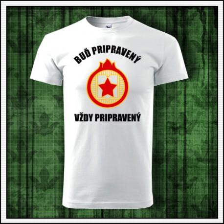 Socialistické tričko darček Iskrička