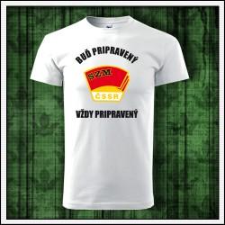 Unisex tričko Zväzák, darček socializmus