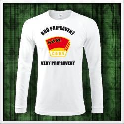 Pánske 180 g. dlhorukávové tričká Zväzák