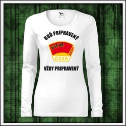Dámske dlhorukávové tričká Zväzák