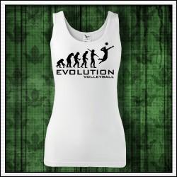 Vtipné dámske tielka Evolution Volleyball