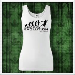 Vtipné dámske tielka Evolution Handball