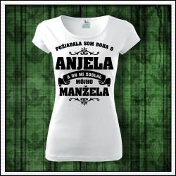 Dámske tričká Anjel - Manžel