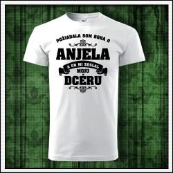 Unisex tričká Anjel - Mama - Dcéra