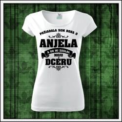 Dámske tričká Anjel - Mama - Dcéra