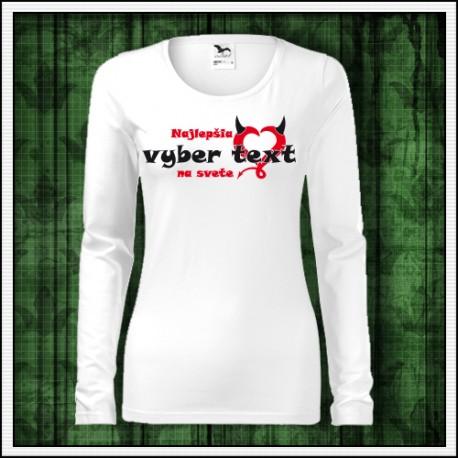 Vtipné tričko pre manželku Najlepšia ..... na svete