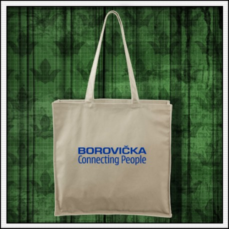 Vtipný darček, vtipná taška Borovička connecting people