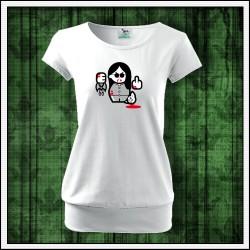 Vtipné dámske tričká s patentom Ozzy Osbourne