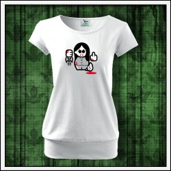 Vtipné dámske tričko Ozzy Osbourne, darček s Ozzym