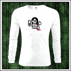 Vtipné pánske 160g. dlhorukávové tričká Ozzy Osbourne