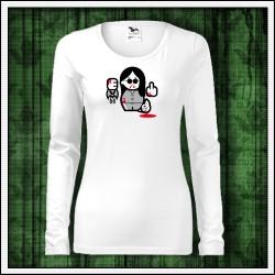 Vtipné dámske dlhorukávové tričká Ozzy Osbourne