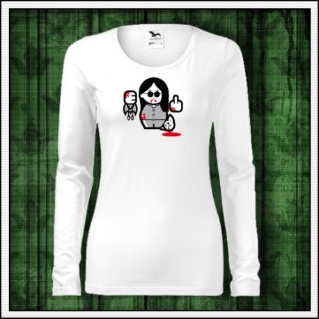 Vtipné dámske dlhorukávové tričko Ozzy Osbourne