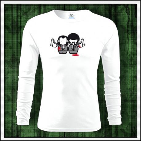 Vtipné pánske dlhorukávové tričko Pulp Fiction
