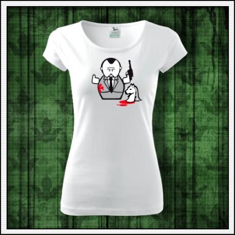 Vtipné dámske tričko The Godfather