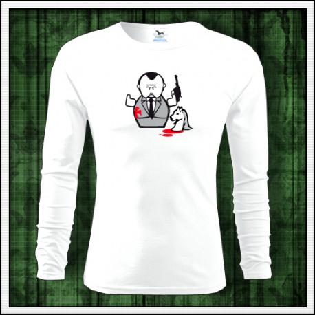 Vtipný darček, tričko s dlhým rukávom The Godfather