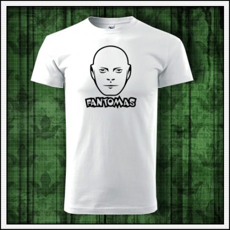 Unisex retro tričko Fantomas