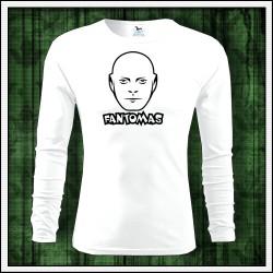 Pánske 160g. dlhorukávové tričká Fantomas