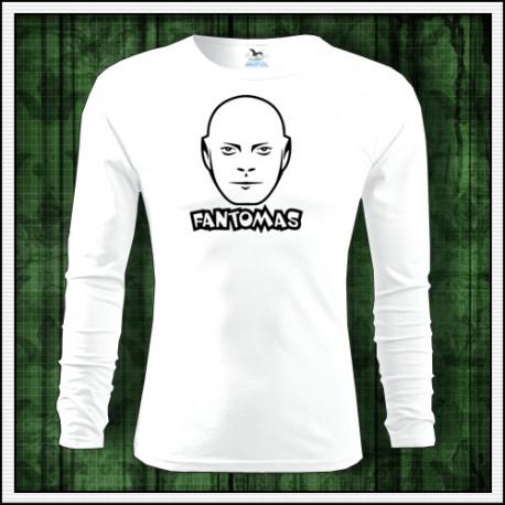 Pánske dlhorukávové tričko Fantomas