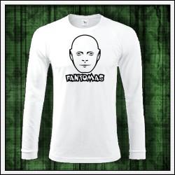 Pánske 180 g. dlhorukávové tričká Fantomas