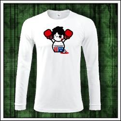Vtipné pánske dlhorukávové tričko Rocky Balboa