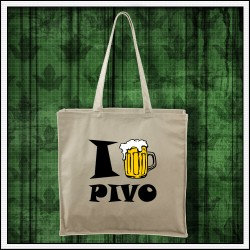 Vtipná taška Ja milujem pivo