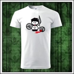 Vtipné unisex tričká Gladiator