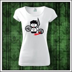 Vtipné dámske tričká Gladiator