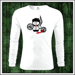 Vtipné pánske 160g. dlhorukávové tričká Gladiator