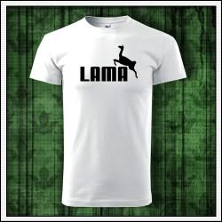 Vtipný darček na Vianoce, unisex tričko Lama