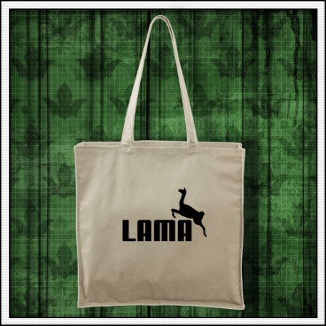 Vtipná taška s potlačou Lama