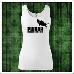 Vtipné dámske tielko Pumba hakuna matata
