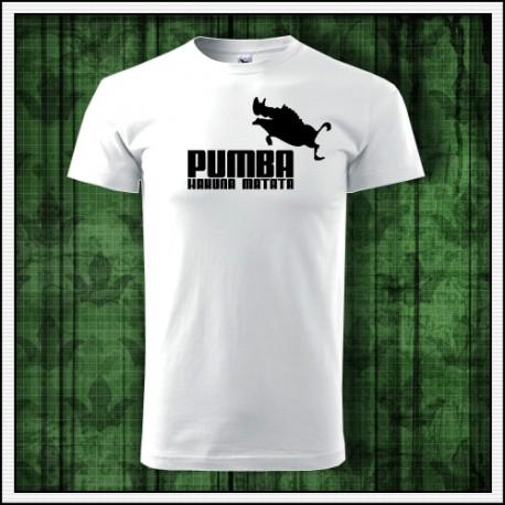 Vtipné unisex tričko Pumba, vtipný darček