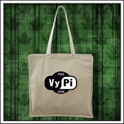 Vtipné tašky Free VyPi Zone