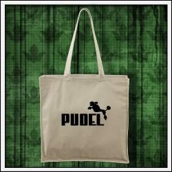 Vtipná taška Pudel, vtipny darcek s pudlom