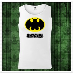 Vtipné pánske tielka Batgirl