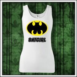 Vtipné dámske tielko Batgirl, vianočný darček