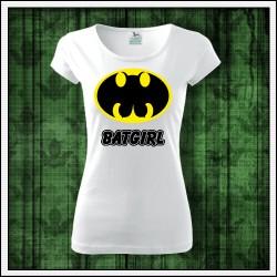 Vtipné dámske tričká Batgirl