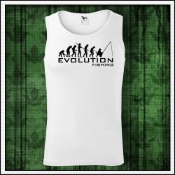 Vtipné pánske tielko Evolution Fishing, darček pre rybára