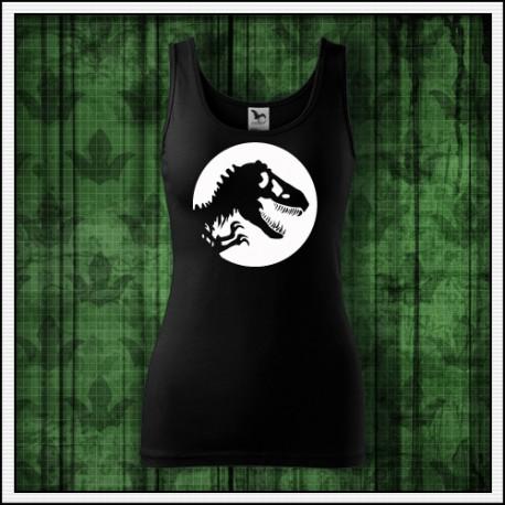 Dámske svietiace tielko Dinosaurus