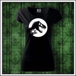 Dámske svietiace tricko Dinosaurus