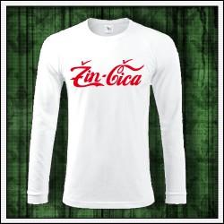 Vtipné pánske dlhorukávové tričko darček pre muža Žinčica