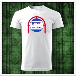 Unisex tričko ČSAD zastávka