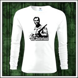 Pánske 160g. dlhorukávové tričká Old Shatterhand