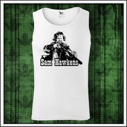 Pánske biele tielko Sam Hawkens